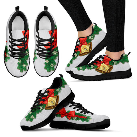 Christmas Bells Women's Sneakers