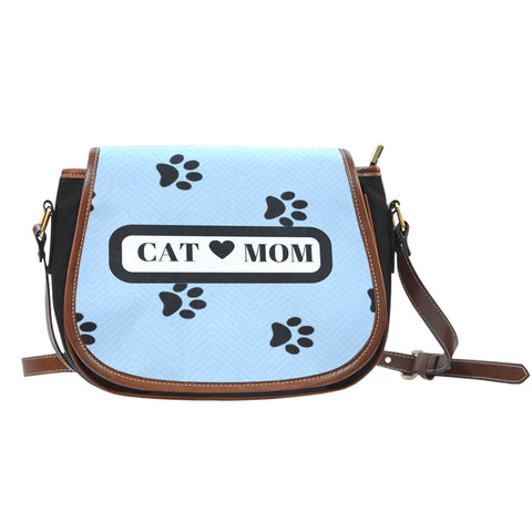 *Attention Cat Moms* Turn your Saddle Bag into a piece of Purrrfect Cat Mom Paw Art!, Saddle Bag, FamilyTrophy.com, FamilyTrophy.com - FamilyTrophy.com