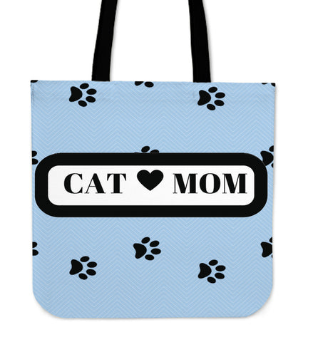 *Attention Cat Moms* Turn your Tote Bag into a Unique Piece of Purrrfect Cat Mom Art!, Tote Bag, FamilyTrophy.com, FamilyTrophy.com - FamilyTrophy.com
