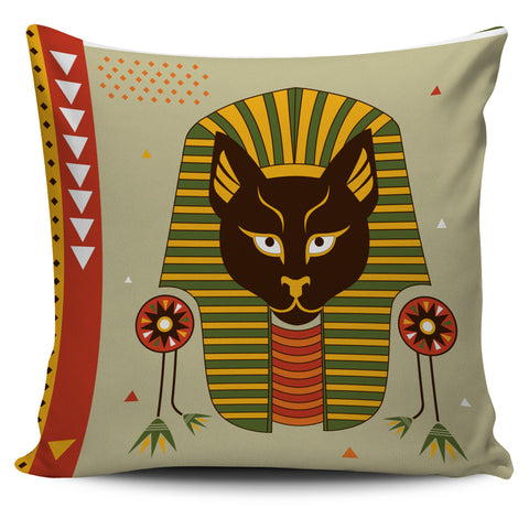 Brown Egyptian Cat Pillow Cover, , FamilyTrophy.com, FamilyTrophy.com - FamilyTrophy.com