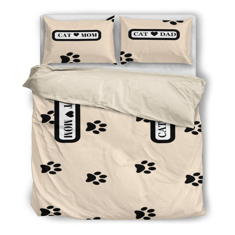 *Attention Cat Moms & Dads* Turn your Duvet Bedding into Unique Piece of Purrrfect Cat Paw Art!, Duvet Bedding, FamilyTrophy.com, FamilyTrophy.com - FamilyTrophy.com