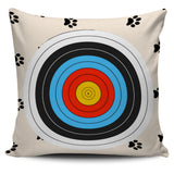 *Attention Cat & Archery Lovers* Turn your Pillow Decoration into a Unique Piece of Loving Cat Archery Art! Paw Cat Love Archery Pillow Set Of 4, Pillow Case Set, FamilyTrophy.com, FamilyTrophy.com - FamilyTrophy.com