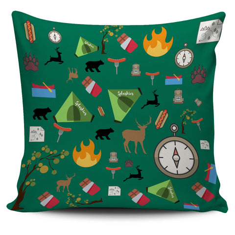 Camping Essentials Pillow Cover - FamilyTrophy.com