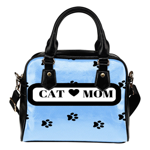 *Attention Cat Moms* Turn your Shoulder Bag into a True Piece of Purrrfect Cat Mom Art!, Handbag, FamilyTrophy.com, FamilyTrophy.com - FamilyTrophy.com
