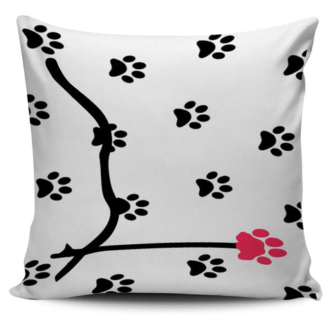 *Attention Cat Moms* Turn your Pillows into a Piece of Pawfect Cat Love Art! Pawsome Love Pillow Case SetOf 4, , FamilyTrophy.com, FamilyTrophy.com - FamilyTrophy.com