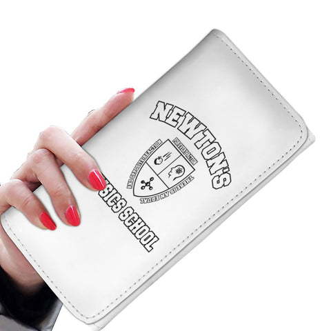 Custom Designed Womens Wallet Newton's Physics School, Womens Wallet, wc-fulfillment, FamilyTrophy.com - FamilyTrophy.com