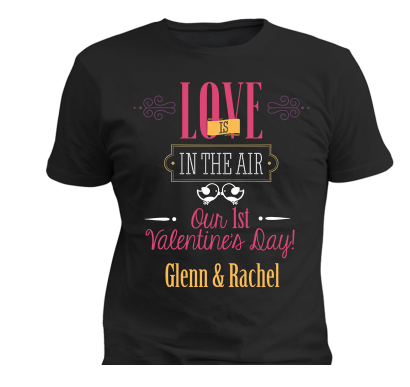 Love Is In The Air - Perfect Gift For Couples, Apparel, Trexify, FamilyTrophy.com - FamilyTrophy.com