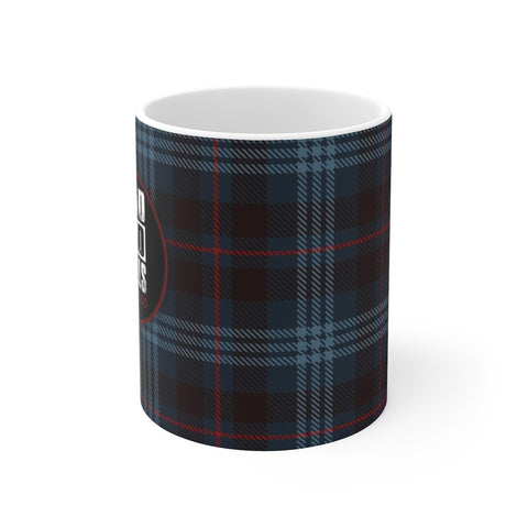 Ceramic Mug For Dads - Mad Dad Skills Since 2000 Tartan Cup Holiday Gift For Fathers