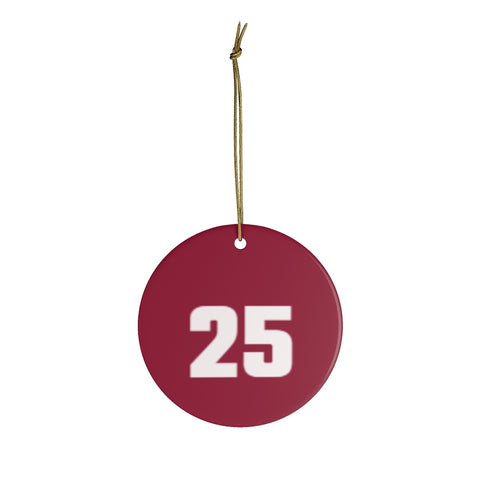 Ceramic Christmas Ornaments For Bama Fans - 25 Alabama Crimson Tide Christmas Ornament Holiday Football Gift