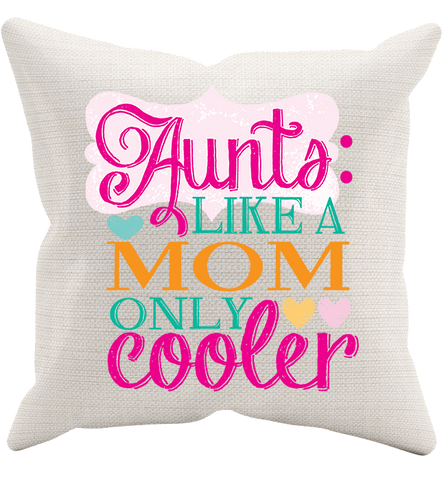 Aunt's Pillowcase, Pillow Case, Trexify, FamilyTrophy.com - FamilyTrophy.com