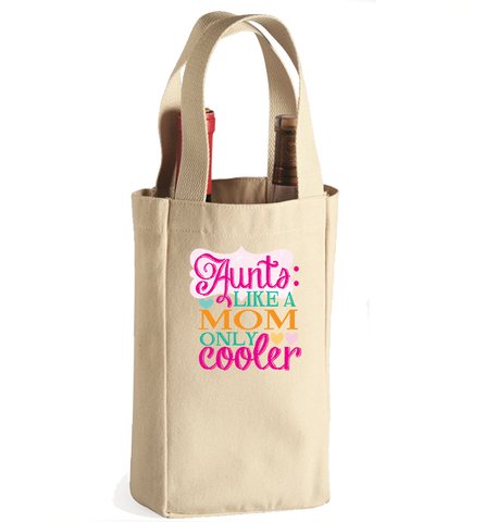Aunt's Winebag, Wine Bag, Trexify, FamilyTrophy.com - FamilyTrophy.com