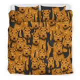 Airedale Terrier Bedding Set - FamilyTrophy.com