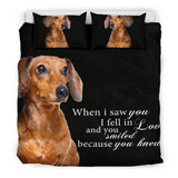 Dach Shund - When I saw you... Bedding Set