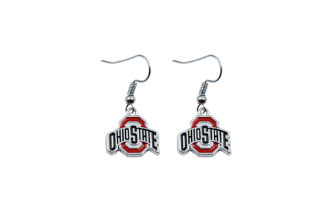 Buckeyes Earrings Great Gift For Buckeye Fan!, Jewelry, Trexify, FamilyTrophy.com - FamilyTrophy.com