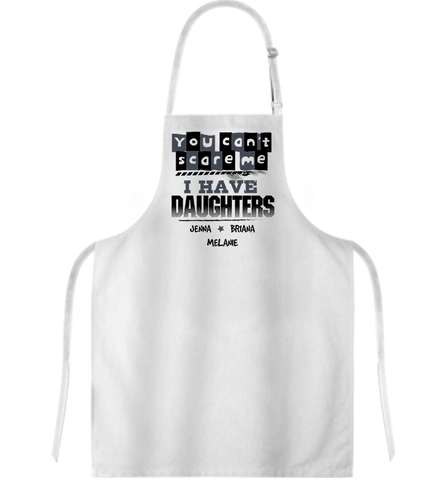 Personalized Daughters Aprons, Apron, Trexify, FamilyTrophy.com - FamilyTrophy.com