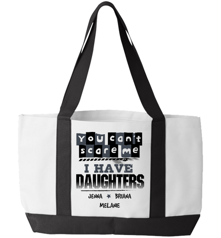 Personalized Daughters Totebag, Tote Bag, Trexify, FamilyTrophy.com - FamilyTrophy.com