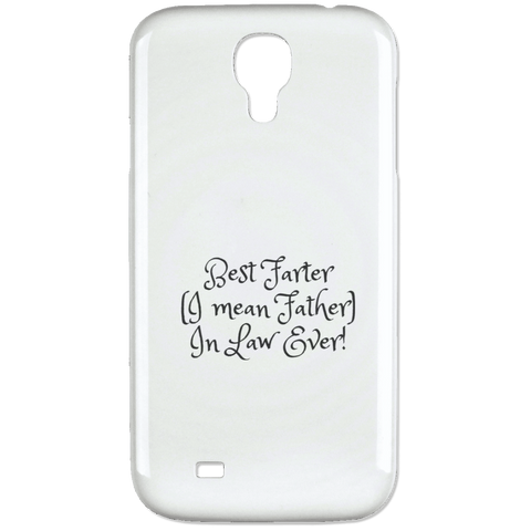 Funny Father's Day Gift For Dad From Wife, Daughter, Son, Stepdaughter, Stepson, Mom, Grandma, Mother In Law (15best farter father in law ever Samsung Galaxy 4 Case)