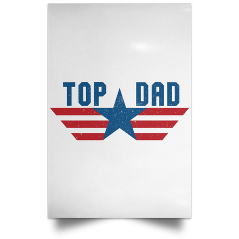 Funny Father's Day Gift For Dad From Wife, Daughter, Son, Stepdaughter, Stepson, Mom, Grandma, Mother In Law (6 od_1495732598337421 POSPO Satin Portrait Poster)