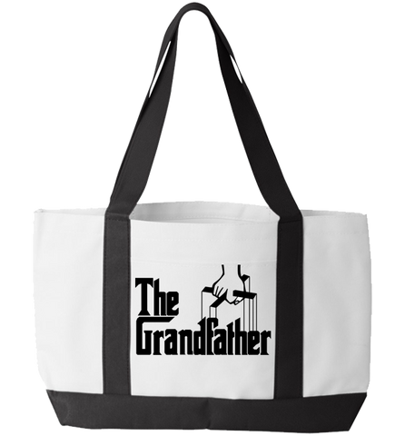 Grandfather Totebag, Tote Bag, Trexify, FamilyTrophy.com - FamilyTrophy.com