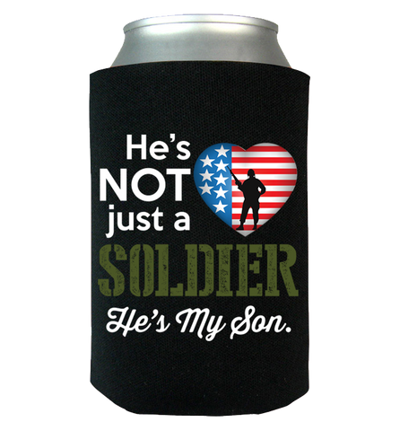 He's Not Just A Soldier Canwrap, Can Wrap, Trexify, FamilyTrophy.com - FamilyTrophy.com