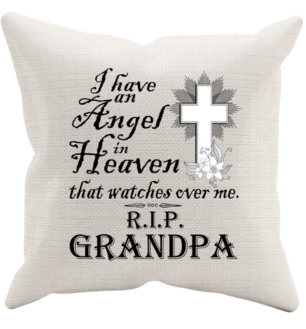 I Have An Angel Pillowcase, Pillow Case, Trexify, FamilyTrophy.com - FamilyTrophy.com