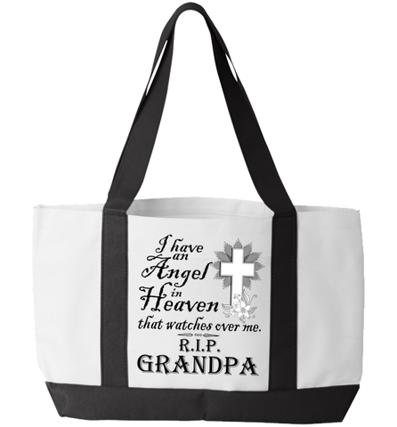 I Have An Angel Totebag, Tote Bag, Trexify, FamilyTrophy.com - FamilyTrophy.com