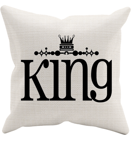 King Pillowcase, Pillow Case, Trexify, FamilyTrophy.com - FamilyTrophy.com