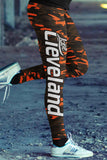 Cleveland Football Camo Leggings, Leggings, Xlusion, FamilyTrophy.com - FamilyTrophy.com
