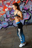 Carolina Football Classic Leggings, Leggings, Xlusion, FamilyTrophy.com - FamilyTrophy.com