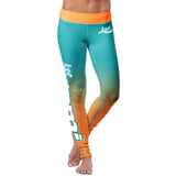 Miami Football Classic Leggings, Leggings, Xlusion, FamilyTrophy.com - FamilyTrophy.com