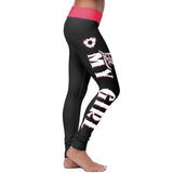 Soccer Mom Love My Girl Leggings, Leggings, Xlusion, FamilyTrophy.com - FamilyTrophy.com
