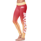 San Francisco Football Classic Leggings, Leggings, Xlusion, FamilyTrophy.com - FamilyTrophy.com