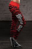Tampa Bay Football Striped Leggings, Leggings, Xlusion, FamilyTrophy.com - FamilyTrophy.com