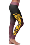 Washington Football Classic Leggings, Leggings, Xlusion, FamilyTrophy.com - FamilyTrophy.com