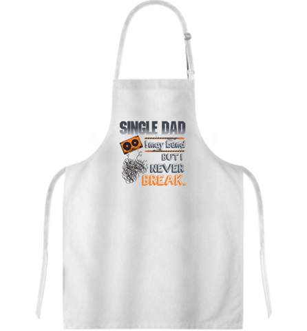 Single Dad Apron, Apron, Trexify, FamilyTrophy.com - FamilyTrophy.com
