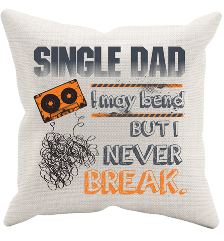 Single Dad Pillowcase, Pillow Case, Trexify, FamilyTrophy.com - FamilyTrophy.com