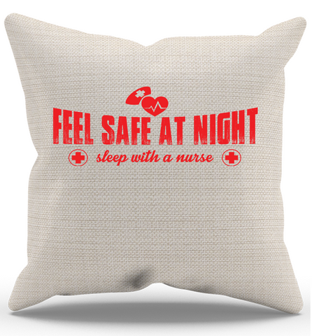 Sleep With A Nurse Pillow Case, Pillow Case, Trexify, FamilyTrophy.com - FamilyTrophy.com