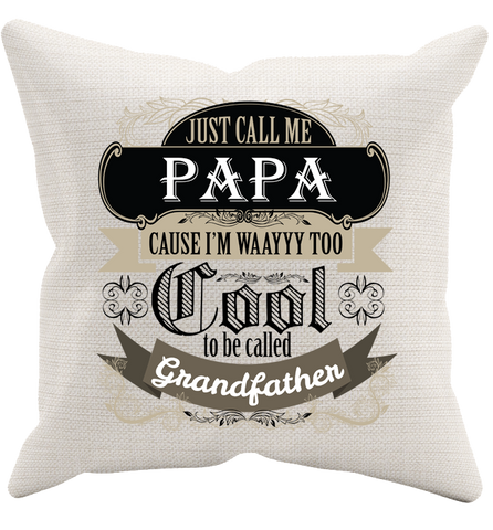 They Call Me Papa Pillowcase, Pillow Case, Trexify, FamilyTrophy.com - FamilyTrophy.com
