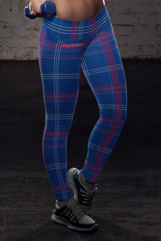 Buffalo Football Plaid Leggings, Leggings, Xlusion, FamilyTrophy.com - FamilyTrophy.com
