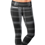 Oakland Football Plaid Leggings, Leggings, Xlusion, FamilyTrophy.com - FamilyTrophy.com