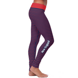 New England Honeycomb Football Leggings, Leggings, Xlusion, FamilyTrophy.com - FamilyTrophy.com