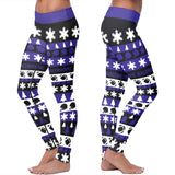 Baltimore Ugly Christmas Classic Football Leggings, Leggings, Xlusion, FamilyTrophy.com - FamilyTrophy.com