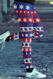 Buffalo Ugly Christmas Classic Football Leggings, Leggings, Xlusion, FamilyTrophy.com - FamilyTrophy.com