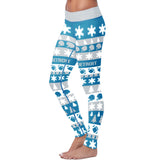 Detroit Ugly Christmas Classic Football Leggings, Leggings, Xlusion, FamilyTrophy.com - FamilyTrophy.com