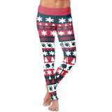 Houston Ugly Christmas Classic Football Leggings, Leggings, Xlusion, FamilyTrophy.com - FamilyTrophy.com