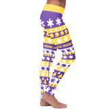 Minnesota Ugly Christmas Classic Football Leggings, Leggings, Xlusion, FamilyTrophy.com - FamilyTrophy.com