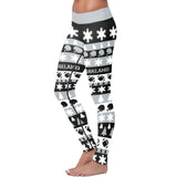 Oakland Ugly Christmas Classic Football Leggings, Leggings, Xlusion, FamilyTrophy.com - FamilyTrophy.com