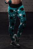 Philadelphia Ugly Christmas Random Football Leggings, Leggings, Xlusion, FamilyTrophy.com - FamilyTrophy.com