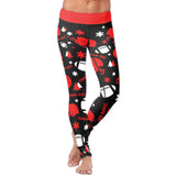 Tampa Bay Ugly Christmas Random Football Leggings, Leggings, Xlusion, FamilyTrophy.com - FamilyTrophy.com