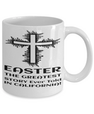 Motivational Spirituality Catholic Cross Mugs Coffee Mug Christianity Coffee Cup Religious Art Print Artsy Jesus Christ Decorative Pencil Holder White Ceramic 11 oz pba Free Dishwaher Safe 2017 2018 Easter Story California Mug, Coffee Mug, Gearbubble, FamilyTrophy.com - FamilyTrophy.com